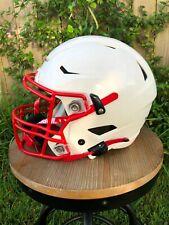 New Riddell SpeedFlex Adult Football Helmet & Facemask Extreme Metallic White