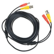Omilik 25ft BNC Video Power Cord Cable Lead for Swann Night Owl CCTV Cameras