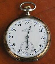 GLASHÜTTE Tutima-seltene LEPINE TASCHENUHR IN 800er SILBER - ALTER: um 1927