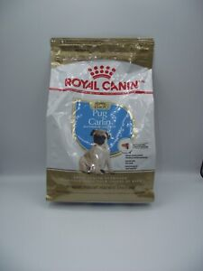 Premium Royal Canin Pug Puppy Breed Specific Dry Dog Food 2.5 lb Bag NEW