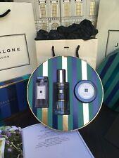 Jo Malone 45ml Lino New Vento, Red Roses Oil & English Pear Freesia 50ml Creme