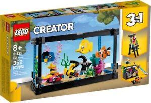 LEGO - Creator 3-in-1 31122 Fish Tank - Brand New