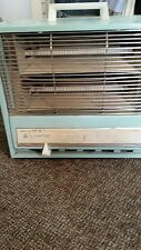 Vintage Arvin Automatic Electric Space Heater Aqua Blue