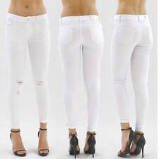 Slim, Skinny Faded Jeans Size Petite for Women