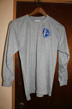 Guam Football Association Soccer Men's Gray Long Sleeve Shirt Size Medium