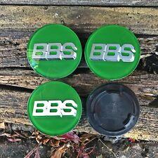 70 mm Verde/Plata insignias Estilo Bbs Tapas emblemas Llantas felgen Roue Wiel Roda
