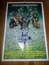 1978 THE BRINK'S JOB MOVIE POSTER Peter FALK Peter BOYLE