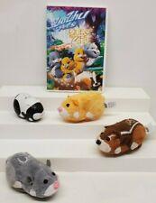 """Zhu Zhu Pets Nugget, Nutters, Num Nums & Zhu Zhu Pets """"Quest for Zhu"""" DVD"""