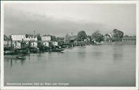 Ansichtskarte Rheinbrücke zw. Weil am Rhein und Hüningen 1940  (Nr.9098)