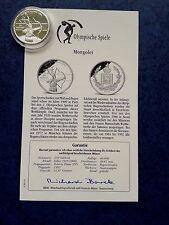 "XXVI.Olymp.Sommerspiele 1996 Atlanta 250 Tukhrik(Mongolei) ""Bogenschießen "" / PP"