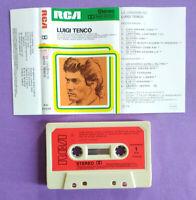 MC Musicassetta Le Canzoni Di LUIGI TENCO Pop Italy Lineatre 1976 no lp cd dvd