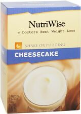 NutriWise - Cheesecake High Protein,Low Sugar Diet Shake or Pudding