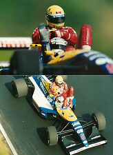 1/12 Ayrton Senna driver figure Williams Tamiya Fw14B resin plastic kit model