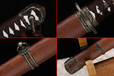 High quality Chinese sword xiao tang dao sharp blade Solid wood shell