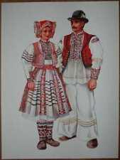 Croatia Folk Costume - Recica - III/09