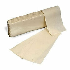 100 x Fabric Muslin Cotton Strips Wax Waxing Leg Body Woven Quality Professional