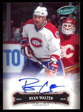 06 07 PARKHURST HOCKEY #158 RYAN WALTER AUTO AUTOGRAPH SIGNED MONTREAL CANADIENS