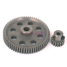 HSP RC 1/10 11184 & 11119 Differential Steel Metal Main Gear 64T &Motor Gear 17T