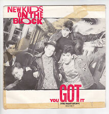"NEW KIDS ON THE BLOCK Vinyl 45 tours SP 7"" YU GOT IT CBS 653169  F Reduit RARE"