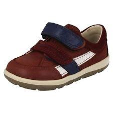 Chaussures décontractées marron avec attache auto-agrippant pour garçon de 2 à 16 ans