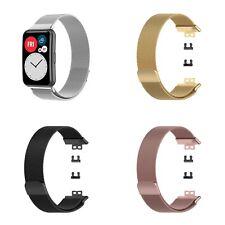 Cinturino braccialetto per Huawei Watch Fit MAGLIA MILANESE magnetico in metallo