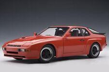 Porsche 924 carrera gt 1980 rojo red AA Autoart 78003 rar 1:18