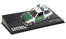 OPEL Corsa A Police - VOITURE MINIATURE COLLECTION - IXO 1/43 CAR AUTO-93