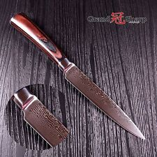 Kitchen Knife 4.5 Inch Paring Utility Knife Damascus Japanese Stainless Steel