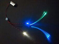 Star Wars Model Led Light Kit For Cockpit Areas Fibre Optic GREEN & BLUE STATIC