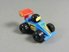 COCHES: Coche de carreras 1984/95 - Nº 4 azul/rot