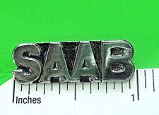 SAAB script   - hat pin ,  lapel pin , tie tac , hatpin GIFT BOXED Q