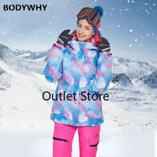 Winter Ski Suit Womens Outdoor Sports Wear Warm Skiing Suits Snow Pants + Jacket