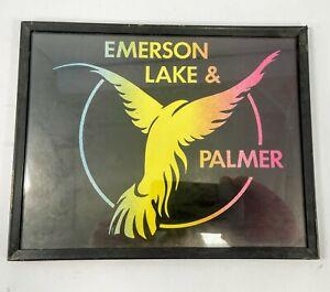Vintage ELP Carnival Framed Print —Emerson, Lake & Palmer 8x10 framed print