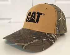 CAT Caterpillar REALTREE Camo Cat Hat / Cap