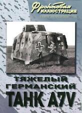 FRI-200911 Sturmpanzerwagen A7V German WW1 Heavy Tank book
