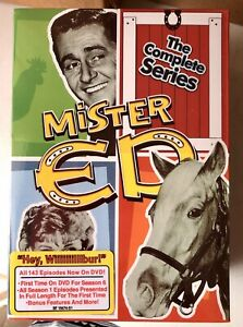 Mister Ed the complete series 1 - 6 DVD *Back In Stock!*