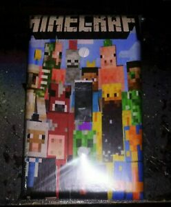 Custom Handmade Minecraft Style Two -Single Toggle Light Switch Cover