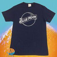 New Blue Moon Beer  Mens Classic Retro T-Shirt
