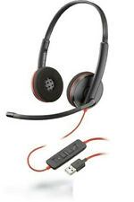 (Lot Of 10) Plantronics Blackwire C3220 Stereo Headset / 209745-101 - New