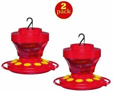 2-Pack First Nature 3091 Hummingbird Nectar Flower Feeder with Easy Cleaning 16