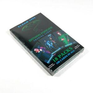 1995 Fleer Batman Forever Factory Sealed Trading Card Box (18 Packs)