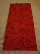 Foulard tube multifonction ANGRY BIRDS rouge - Red head & neck tube scarf