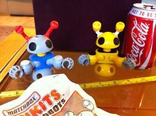 Matchbox Linkits Micro Robots Vintage Old Creative Toy Rare