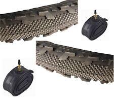 """COPPIA di 18x2.125"""" on/off road pneumatico E-515-01 con pneumatico ad alta qualità TUBI"""