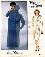 80's VTG VOGUE Amer. Design. Misses' Dress Jerry Silverman Pattern 1117 14 UNCUT