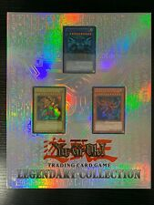 Yu-Gi-Oh Legendary Collection Binder / Folder Ancient Egypt With 59 Cards