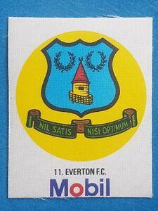 Mobil Football Club Badges Silk 1983 Everton