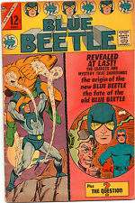 Blue Beetle #2 - Origin Story! Plus The Question! - (Grade 5.0) 1967