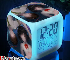 Your Name Anime Japanese Alarm Clock Bedside Cartoon LED Light Cosplay Fashion