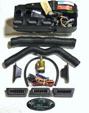 Vintage Air Gen II Compac Heat A/C & Defrost System w/ Black Streamline Control